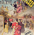 Poster Advertising The Montagnes Russes Roller Coaster by French School