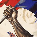 Poster For Liberation Of France From World War II 1944 by Anonymous