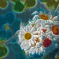 Pot Of Daisies 02 - S11bl01 by Variance Collections