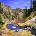 Poudre Canyon by Bob Beardsley