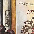 Pouilly Fume 1975 Print by Debbie DeWitt