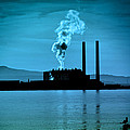 Power Station Silhouette by Craig B