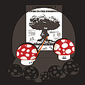 Power to the mushroom Poster by Budi Satria Kwan