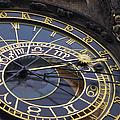 Prague Orloj by Adam Romanowicz