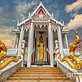 Pranburi Temple by Adrian Evans
