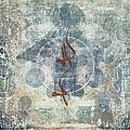 Prayer Flag 12 Print by Carol Leigh