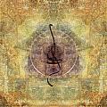 Prayer Flag 28 Print by Carol Leigh