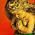 Praying Angel by Susanne Van Hulst