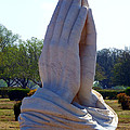 Praying Hands Statue by David G Paul