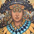 Pre-inca 3 by Jane Whiting Chrzanoska