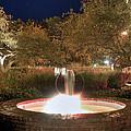 Prescott Park Fountain by Joann Vitali