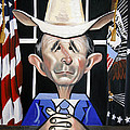 President George W Bush You Been Cubed by Anthony Falbo