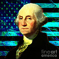 President George Washington V2 P138 Square by Wingsdomain Art and Photography