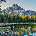 Pristine Alpine Lake by Robert Bales