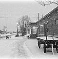 Prosser Winter Train Station  by Carol Groenen