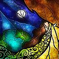 Psalm 91-4 by Mandie Manzano