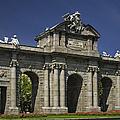 Puerta De Alcala Madrid Spain by Susan Candelario