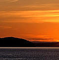 Puget Sound Sunset - Washington by Brian Harig