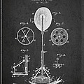 Punching Apparatus Patent Drawing From1895 by Aged Pixel