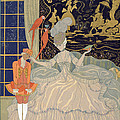 Punishing The Page  by Georges Barbier