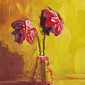 Purple Flowers by Patricia Awapara