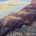 Purple Mountain by Arlene Baller