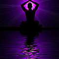 Purple Prayer by Tim Gainey