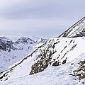 Quandary Peak Panorama by Aaron Spong