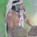 Wampanoag Dancer by Terri Ana Stokes