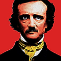 Quoth The Raven Nevermore - Edgar Allan Poe - Electric Print by Wingsdomain Art and Photography
