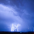 Rabbit Mountain Lightning Strikes Boulder County Co by James BO  Insogna