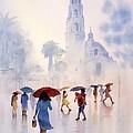 Rain Drops by John YATO