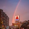 Rainbow Over Fenway by Paul Treseler