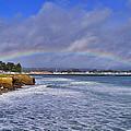 Rainbow Over Santa Cruz by Randy Straka