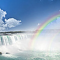 Rainbows At Niagara Falls by Elena Elisseeva