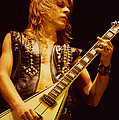 Randy Rhoads At The Cow Palace In San Francisco by Daniel Larsen