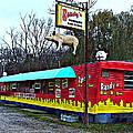 Randy's Roadside Bar-b-que by MJ Olsen