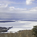 Rangeley Maine Winter Landscape Print by Keith Webber Jr