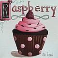 Raspberry Chocolate Cupcake by Catherine Holman