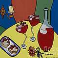 Raspberry Wine by Barbara McMahon