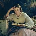 Reading by Ivan Nikolaevich Kramskoy