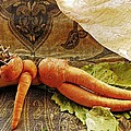 Reclining Nude Carrot by Sarah Loft