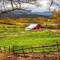 Red Barn by Debra and Dave Vanderlaan
