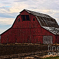 Red Barn Photoart by Debbie Portwood
