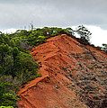 Red Cliff At Waimea by Christi Kraft