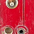 Red Door Lock by Tom Gowanlock