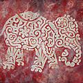 Red Elephant by Jennifer Kelly