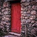 Red Grist Mill Door by Edward Fielding