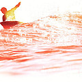 Red Hot Surfer by Paul Topp