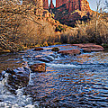 Red Rock Crossing Winter by Mary Jo Allen